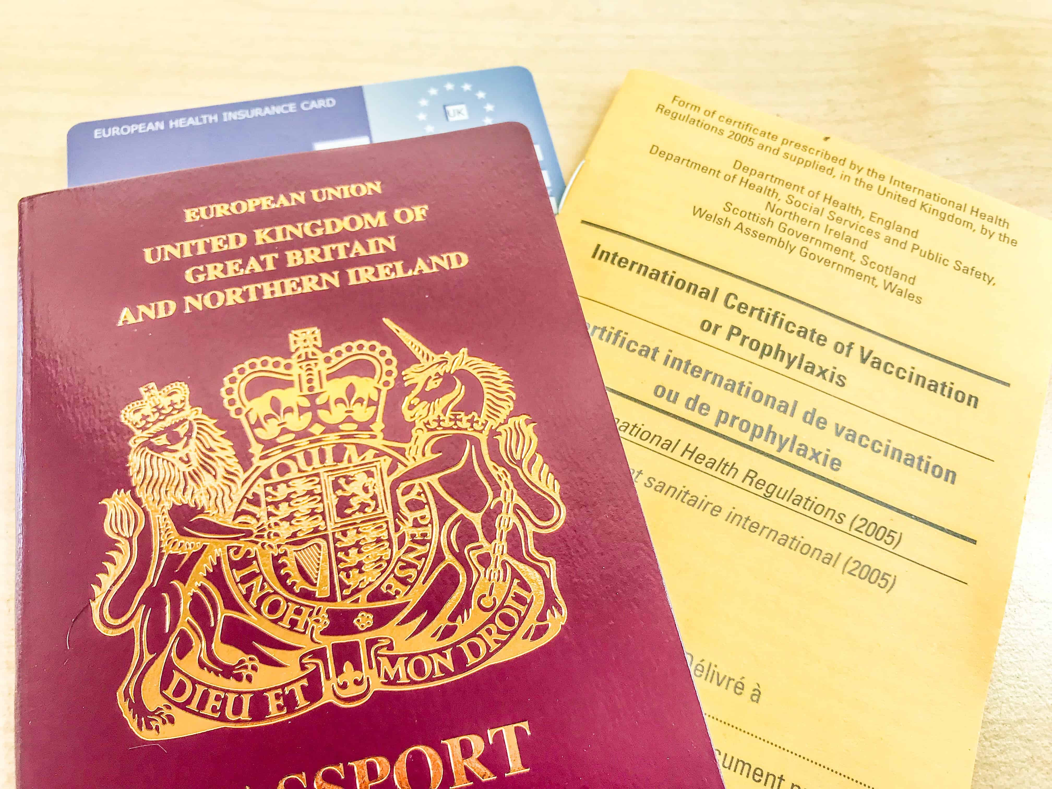 Make sure you get your travel vaccinations recorded in your International Certificate of Vaccination booklet for your own records